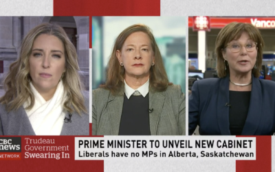 CBC: Trudeau unveils new cabinet